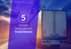 top exercise for truck drivers