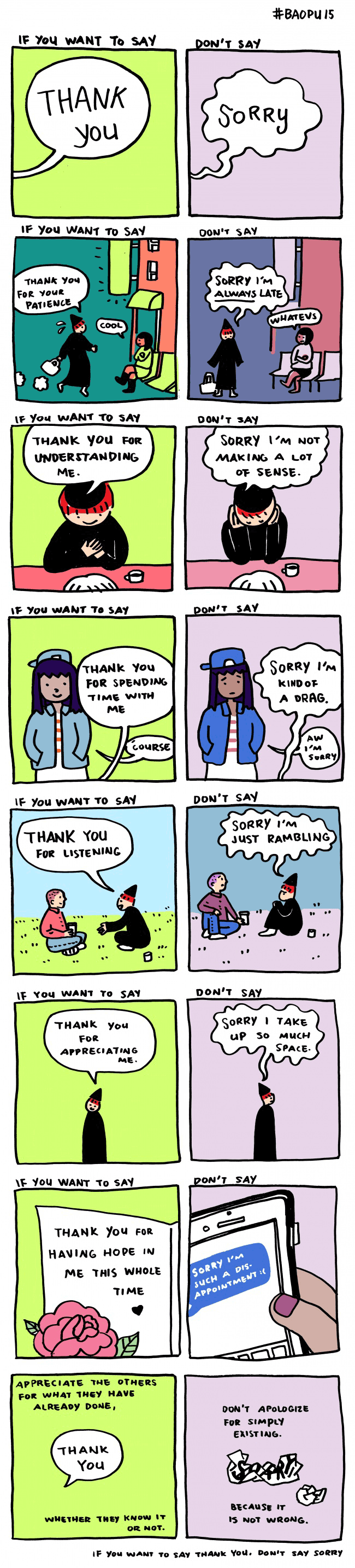 how to say your sorry